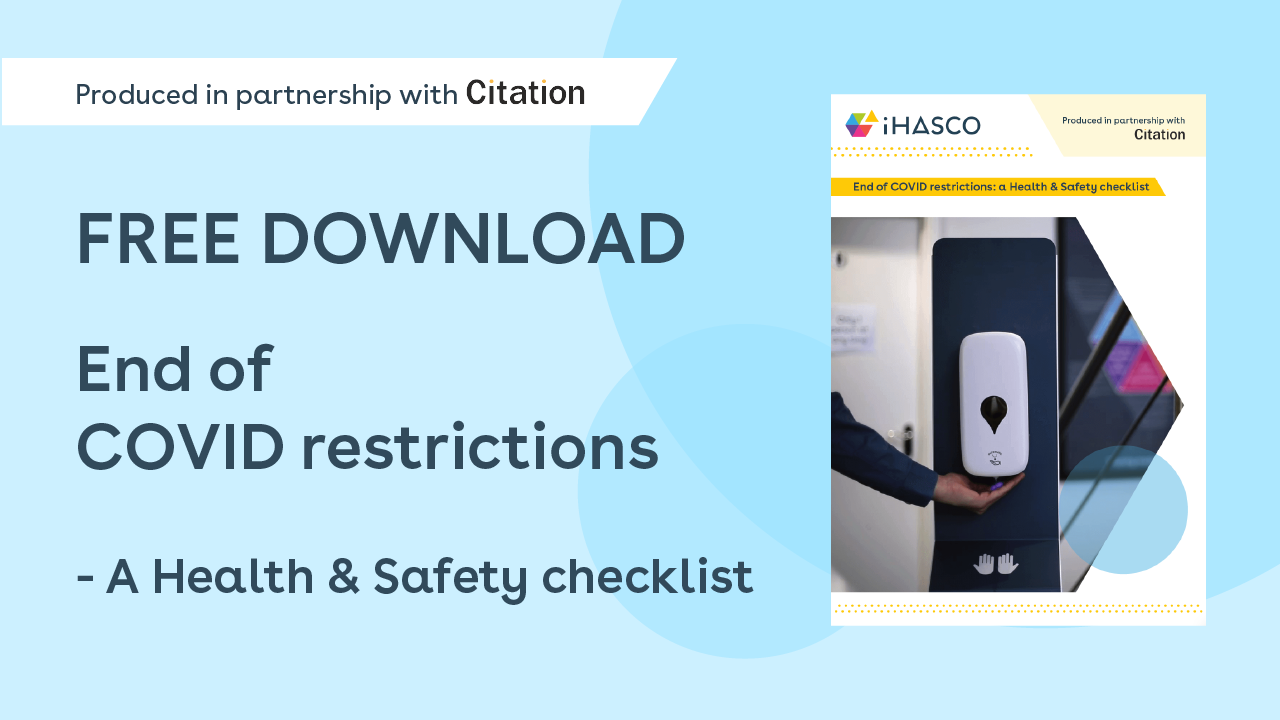 Free download: End of COVID Restrictions - A Health & Safety Checklist