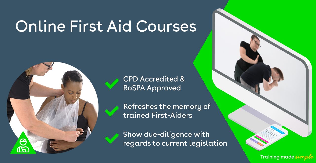 Online First Aid Training Promotional Image