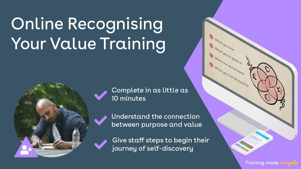Recognising Your Value Training