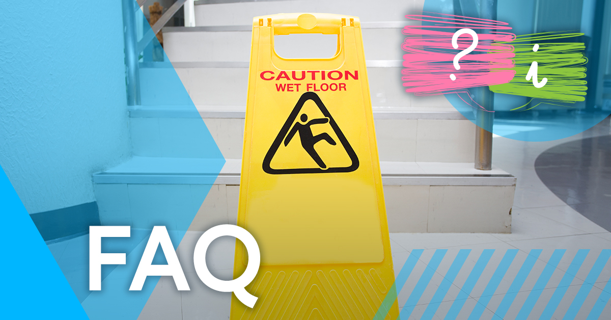 What are the most common causes of accidents in the workplace?