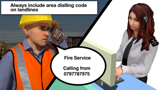 Fire Awareness in Construction. Chapter 4: Discovering a Fire Preview Image