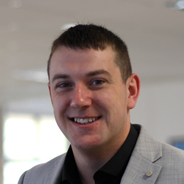 Portrait of Alex Wilkins Tech.IOSH